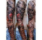 Full Arm Sleeve Dragon Tattoos  Sick Blog And News Site About
