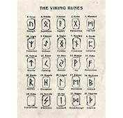 Runes Tattoo Viking Stuff Vikings Symbols Small
