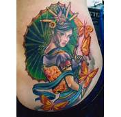 Tattoo Gueixa  Tatuagem Feminina E Sensual Site Do Oriente