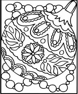 Christmas Ornaments Coloring Pages, Christmas Ornament Coloring Sheets ...