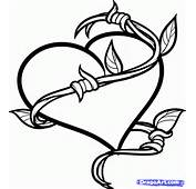 How To Draw A Barbed Heart Tattoo Step By Tattoos Pop Culture