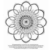 Free Mandala Design To Print And Color Http//wwwart Is Funcom/free