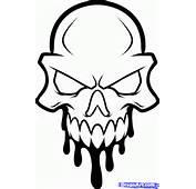 How To Draw A Skull Head Tattoo Step 7
