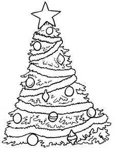 Christmas Tree Coloring Pages | Coloring Pages To Print