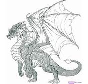 How To Draw A Dragon Step By 9
