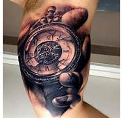 Old Clock By Carl Grace  Tattoo Designs