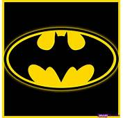 How To Draw Batman Logo Step By Dc Comics FREE