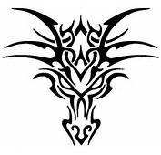 Tribal Head Dragon Tattoos For Men