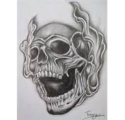 Smoke Skull Tattoo By Tommyyu Designs Interfaces Design 2013