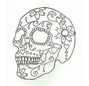 My Work In Progress Tattoo » Sugar Skull