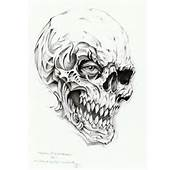 Skull Tattoo Drawing By Linkerart On DeviantArt