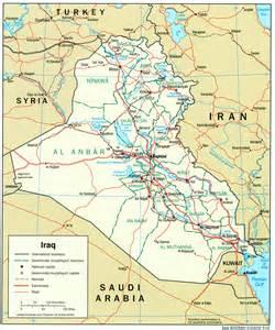 イラク:イラク全土の地図はここを ...