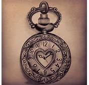 Pocket Watch And Clock Tattoos Designs Ideas Pictures To Pin On