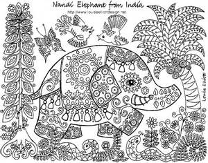 Detailed Coloring Pages | SelfColoringPages.com