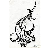 Tribal Shark Tattoos Designs Pictures 6