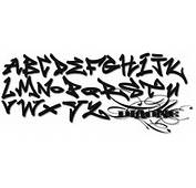 How To Draw Sketch Alphabet In Graffiti Letters