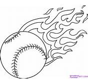 How To Draw A Baseball Step By Sports Pop Culture FREE Online