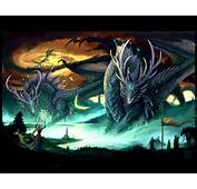 Dragon With Witch  Dragons Wallpaper 24182977 Fanpop