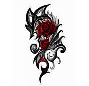 Rose Tattoo Stencils  Best Design Ideas
