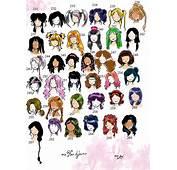 Hairstyles 6th Edition By NeonGenesisEVARei On DeviantArt