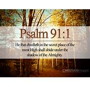 Bible Verses Faith Psalm 91 1 Fall Trees Picture HD Wallpaper