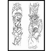 Religious Sleeve Tattoo Design By Thirteen7s On DeviantArt