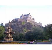 Edinburgh Castle From Princes Street Garden 001jpg  Wikipedia