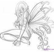 How To Draw A Fairy Tattoo Step By Tattoos Pop Culture FREE