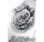 RoseTatBeautiful  Chicano Tattoo Art Pinterest Rose Tat