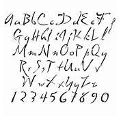 Stencils  Alphabet Dali Lettering Stencilease