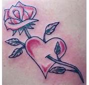 Return From Rose Heart Tattoos To Designs