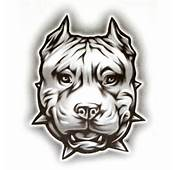 OG Abel Realistic Temporary Tattoo  Pit Face Dog