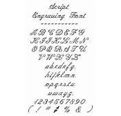 The Script Engraving Font Is Fancy Cursive Style