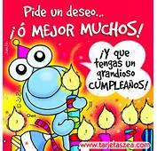 Tarjeta De Cumpleaños Los Deseos Que Tú Quieras