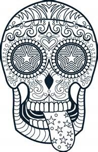 open skull Colouring Pages (page 2)