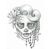 Sugar Skull Two By LeelaB
