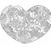 Free Printable Zentangle Coloring Pages Wallpaper Downloads