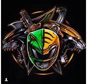 Green Rangers Power Art Tattoo