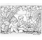 Elvenpath Coloring Pages Fate Little Fairy 1