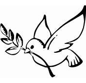 Dove Peace Black White Line Art Christmas Xmas On Earth
