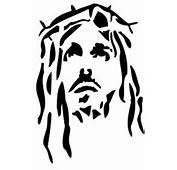 Print Free Of Charge The Head Jesus Stencil