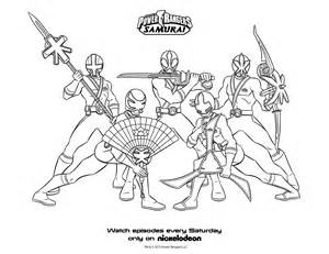 Power Rangers Samurai Coloring Pages Groups 2 by GilangAsadullah