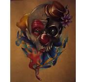 12 Joker Skull Tattoo Design
