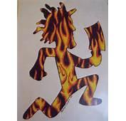 Flaming Hatchetman By Heatherdawnchapin