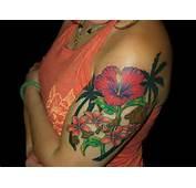 30 Artistic Hawaiian Flower Tattoos  SloDive