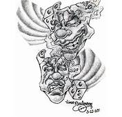 Drama Masks By Hydrauliceye