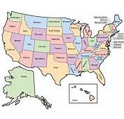 US MAP OUTLINE WITH STATES LABELED Image Galleries  ImageKBcom