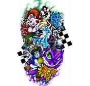 Alice In Wonderland Tattoos  Tattoos20com