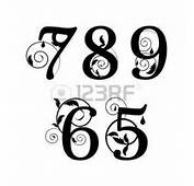 Tattoos On Pinterest  Number Fonts Mermaid And Watercolor