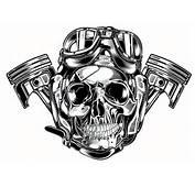 Skull &amp Pistons  Harley Davidson US